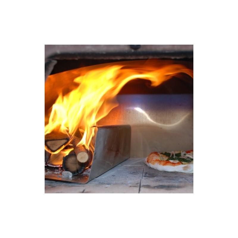 Accessori per forni pizza party a altri forni a legna spartifiamma - Forno a legna refrattario prezzo ...