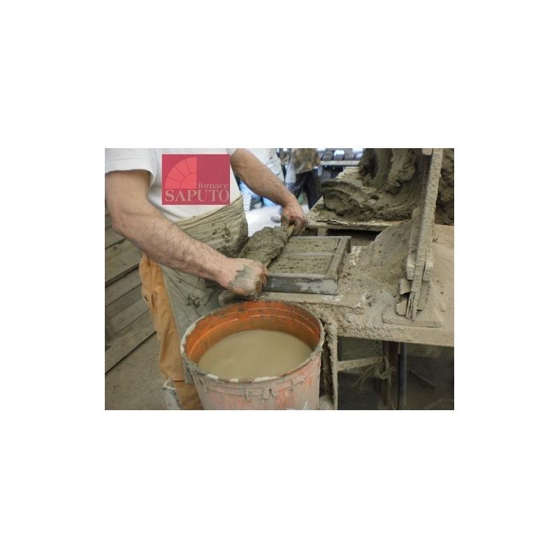 Piano cottura in biscotto saputo per forni a legna - Forni per pizza casalinghi ...