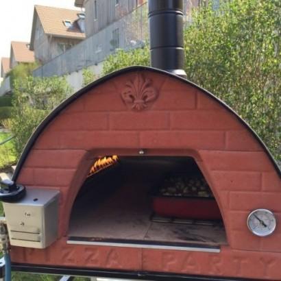 Forno a gas per pizza portatile Bollore Pizza Party