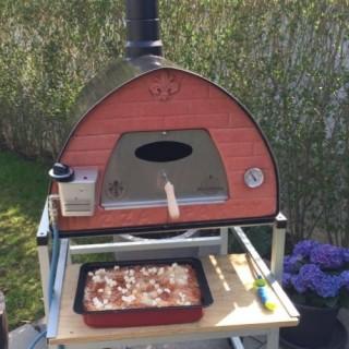Forno a gas per pizza portatile Passione