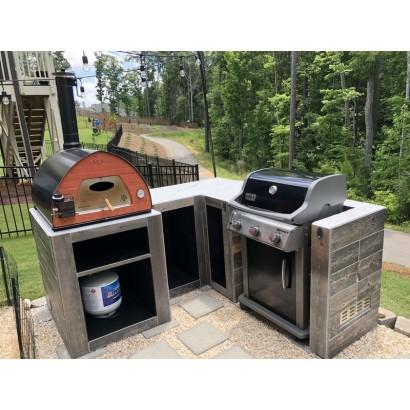 Outdoor NATURAL GAS pizza oven Passione Italia USA Canada Australia