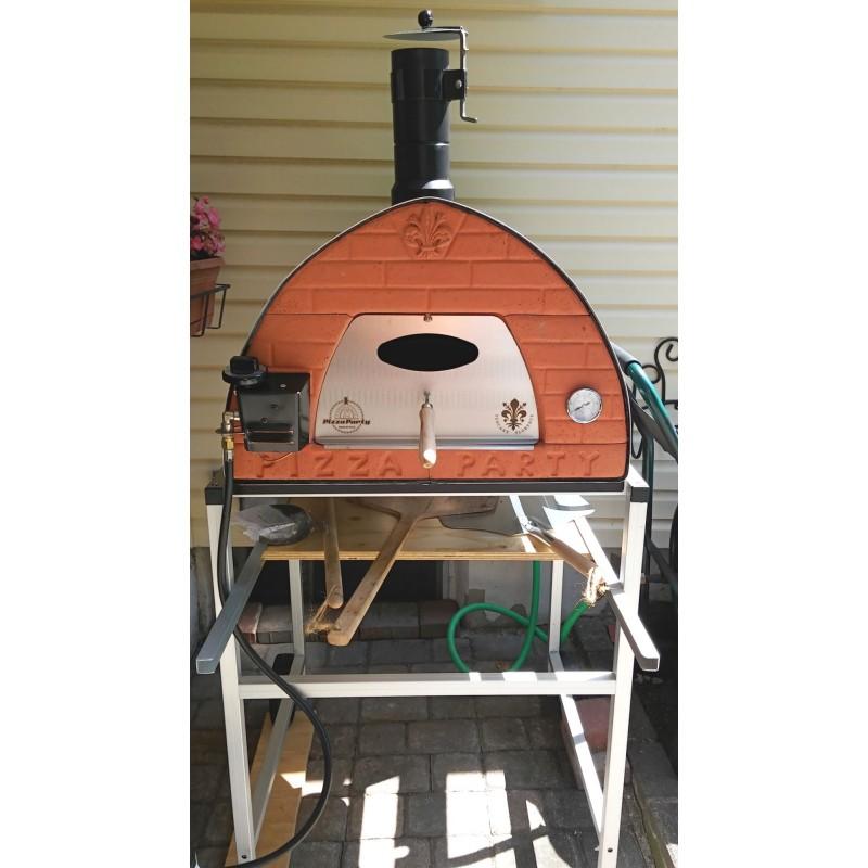 Forni a gas portatili per pizza pizza party for Forno per pizza portatile