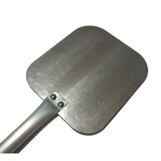 Pizza peel 30x32 cm stainless steel and aluminum