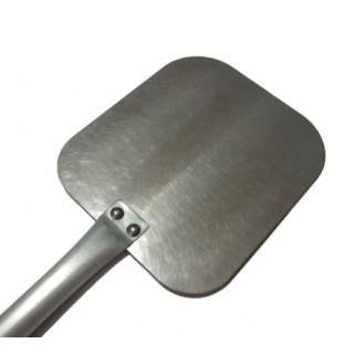 Palettino in alluminio e inox 18x22 cm