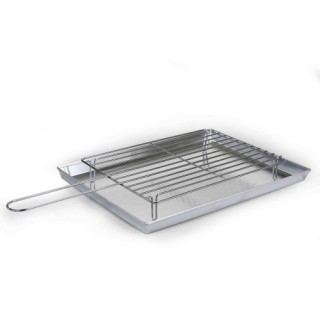 """Bbq Set with pan """"Pentole Agnelli Cookware"""" and grid"""